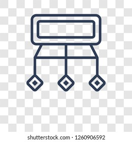 Sitemaps icon. Trendy Sitemaps logo concept on transparent background from Technology collection