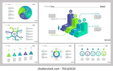 Six Analytics Slide Templates Set