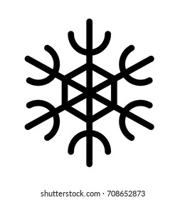 Six Branch Snowflake