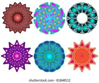 Six Mandalas