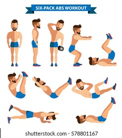 Six Pack Abs Workout For Men Exercise At Home