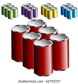 Six Pack Cans