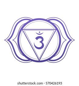 The sixth - Chakra Third eye - Crown