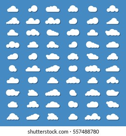 sixty vector clound icons