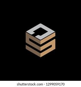 SJ Initial Logo vector