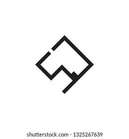 SJ logo letter design