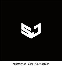 SJ Logo Letter ininial Designs Templete