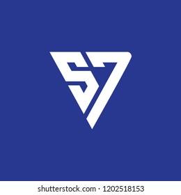 sj triangle logo initial