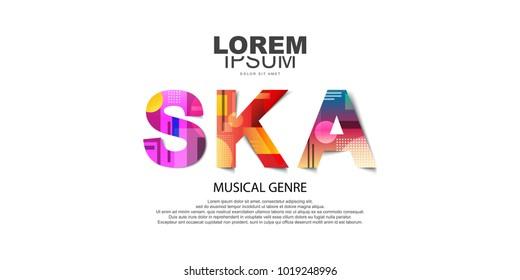 Ska music . Music genre