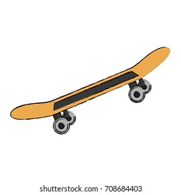skate board isolated icon