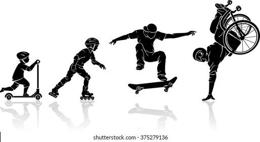 Skateboard Artist Extreme Progression - Unbreakable