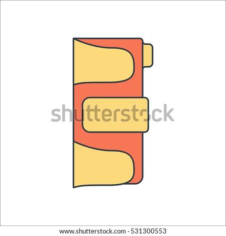 Skateboard Hand Protector Protector Symbol Sign Stock Vector