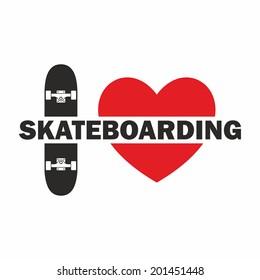 Skateboarding icon