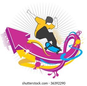skateboarding sport