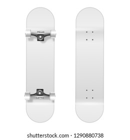 Blank Skateboard Images, Stock Photos & Vectors | Shutterstock