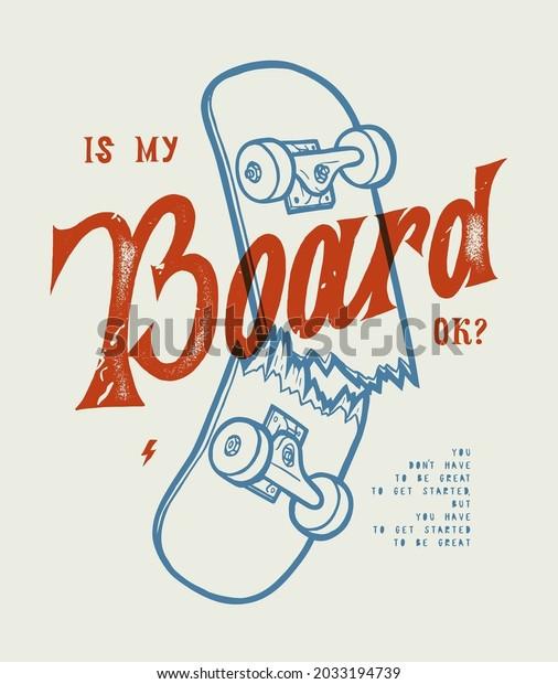 skateboarding-vintage-lettering-typograp