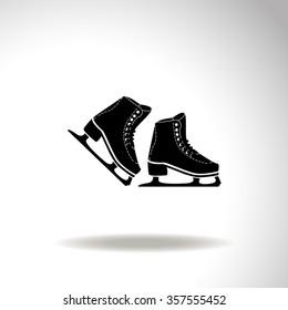 Skates vector icon