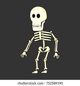 skeleton bones vector