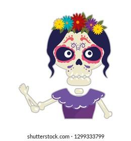 skeleton of katrina character