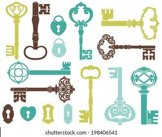 Skeleton Keys (Blue)
