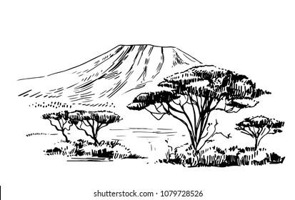 Imágenes, fotos de stock y vectores sobre Sketch Kenya   Shutterstock