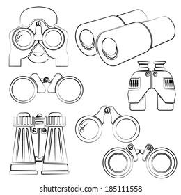 sketch binocular set