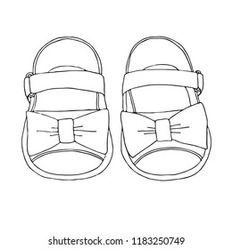 a1913a74d7e84 Hand Drawn Shoes Images, Stock Photos & Vectors | Shutterstock