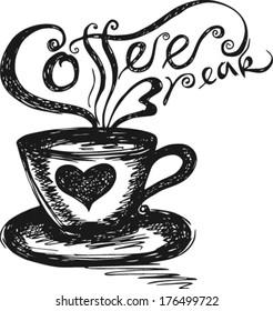 sketch of Coffee Break