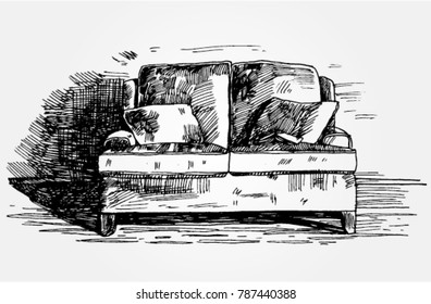 Sketch of a Couch