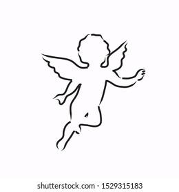 Ilustraciones Imágenes Y Vectores De Stock Sobre ángeles
