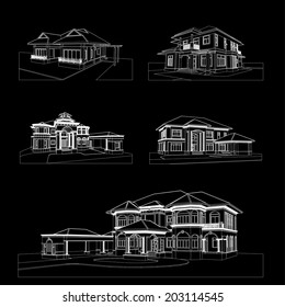 House Blueprint Images, Stock Photos & Vectors | Shutterstock