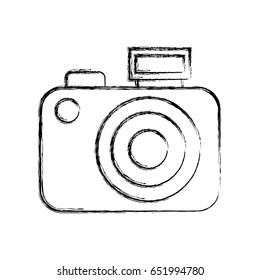how to draw a compat camera