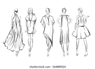 how to draw like a real fashion designer