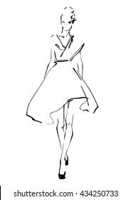 Fashion Sketch Images, Stock Photos \u0026 Vectors