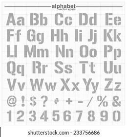 Sketched Alphabet Images Stock Photos U0026 Vectors | Shutterstock