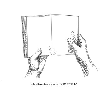 Hand Holding Book Images, Stock Photos & Vectors | Shutterstock