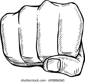 Hand Punch Vector Images, Stock Photos & Vectors | Shutterstock