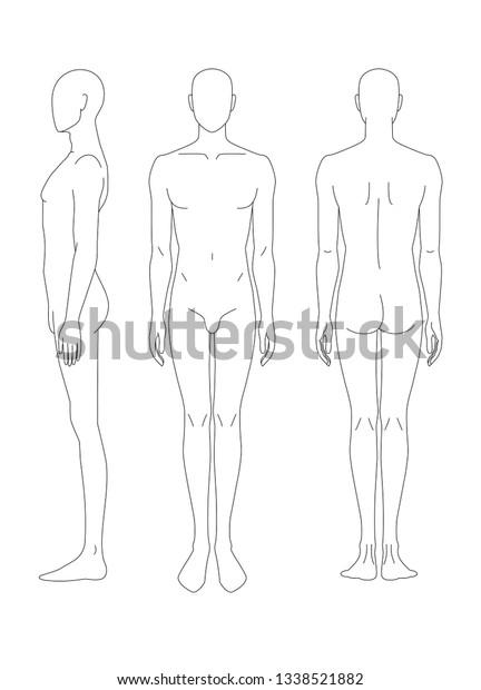 Körper frau zeichnen