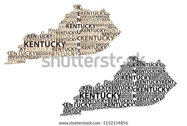 Kentucky vector map | Free vector image in AI and EPS format, Creative  Commons license.