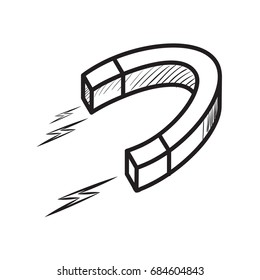Sketch of a magnet