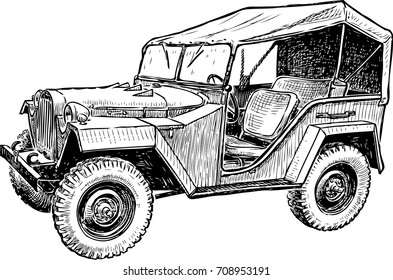 Sketch of the old machine