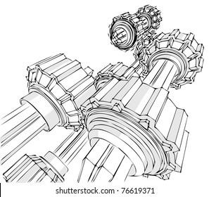 Sketch of the transmission