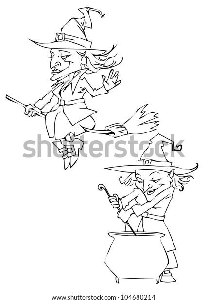 Witch clipart two, Witch two Transparent FREE for download on  WebStockReview 2020