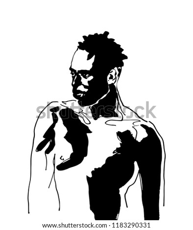 Wild naked african women