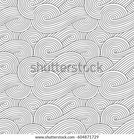 Sketchy Vector Hand Drawn Doodles Zen Stock Vector Royalty Free Simple Zen Patterns