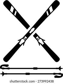 Ski Equipment Skis Sticks