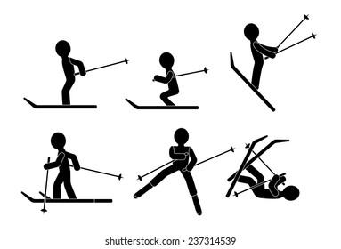 Skiing - winter sports