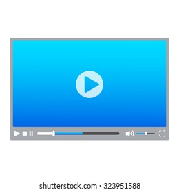 Skin for Web Video Player