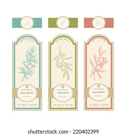 Skincare product label