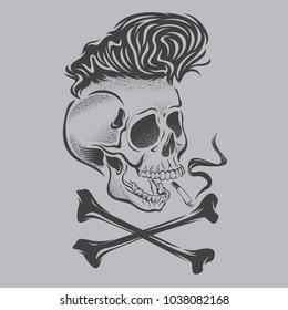 skull bone punk